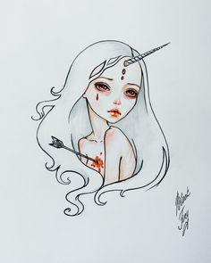The Last Unicorn by BlackFurya.deviantart.com on @DeviantArt