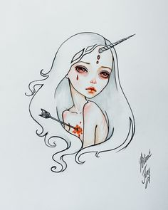The Last Unicorn by BlackFurya.deviantart.com on @DeviantArt