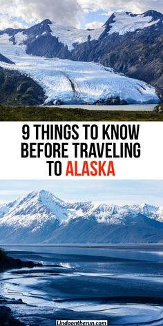 travel destinations In The Us people - 9 Things To Know Before Traveling To Alaska - Linda On The Run Alaska Travel, Travel Usa, Travel Tips, Travel Destinations, Travel Ideas, Alaska Trip, Alaska Usa, Canada Travel, Cool Places To Visit