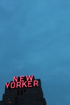 New Yorker - Haven't been there but surely I will someday.