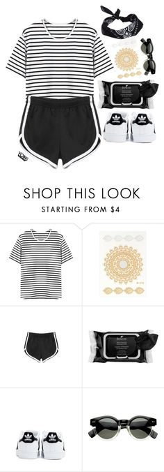 """""""#yoins"""" by credentovideos ❤ liked on Polyvore featuring Boscia, adidas and ASOS"""