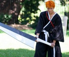 As for Ichigo, he's the only human that can become a Death God. However, you can also become Death God like him with this Bleach Ichigo costume. This Ichigo Kurosaki costume will help you enhance all the power from Ichigo and also helps turning you into a Death God. This costume will be the best gift item on Halloween Day.