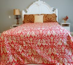 Bedspreads Christmas Decor Quilt Tablecloth Red,Twin