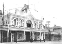 Rivoli theatre, Newtown when it was the Star. Wellington New Zealand, Image Caption, Theatre, Past, Cinema, Thing 1, Scene, Star, Street