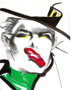 INTERSTYLEPARIS ♥ Tony Viramontes  Illustrateur de mode