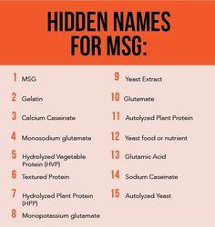 Hidden Names for MSG