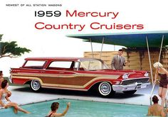 PICTURES OF CARS IN THE 50's | GREAT AMERICAN CARS FROM THE 50'S & 60'S - 1959 MERCURY COUNTRY ...