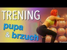 Sexi pośladki & płaski brzuch - 15 minutowy trening domowy - YouTube