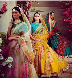If you thought Kim Kardashian's traditional outfits for Vogue India was stunning then you clearly have good fashion taste. Indian Bridal Fashion, Indian Wedding Outfits, Bridal Outfits, Indian Outfits, Wedding Dresses, Eid Outfits, Fashion Outfits, Lehenga Designs, Saris