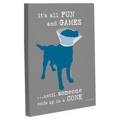 Fun & Games Canvas Print