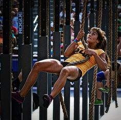 Lauren Fisher. 20 yr old crossfit athlete #inspiration #motivation