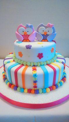 Torta lechucitas