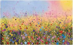 My Hearts Garden  Limited Edition Giclee of 100 W:28 x H:19 £395