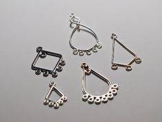 Cook~Love~Craft: DIY Tutorial: Chandelier Crystal Earrings