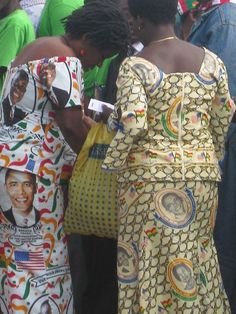 Check out the Obama fabric
