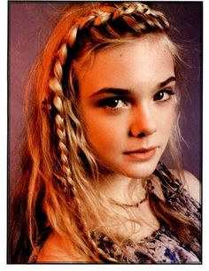 Obsession with braids....