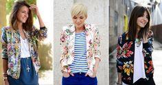 Najmodniejsze kurtki damskie jesień 2015  #kurtki #moda #fashion #jesień #jacket #kwiaty