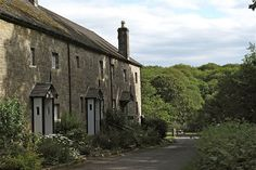 Workers' cottages on the Crom Estate, County #Fermanagh #Ireland