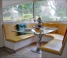 1948 Kitchen Nook with Banquette by American Vintage Home, via Flickr