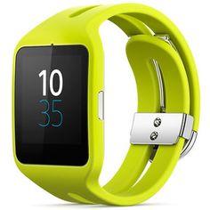 Sony SmartWatch 3 Silicone Jaune (SWR50SPJ ) : achat / vente Montre & Bracelets connectés sur ldlc.com
