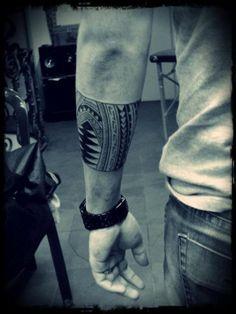 Tribal Forearm Tattoo! I like