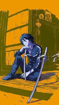 Yato Anime Noragami, Manga Anime, Fanart Manga, Anime Guys, Otaku, Yatori, The Darkness, Awesome Anime, Cartoon Drawings