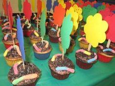 dirt cupcakes- so 'dirty', yet so yummy!