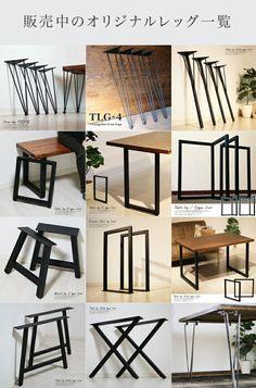 Office Table Design, Home Office Setup, Diy Dining Table, Dining Table Design, Pallet Furniture Designs, Metal Furniture, Cool Bookshelves, Diy Crafts For Home Decor, Home Room Design