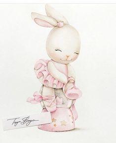 - Caarton Cute Animal Drawings, Animal Sketches, Cute Drawings, Bunny Art, Cute Bunny, Baby Painting, Painting & Drawing, Baby Illustration, Illustrations