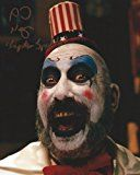 #9: Rob Zombie House of 1000 Corpses Signed Autographed Sid Haig as Captain Spaulding 8x10 Photo