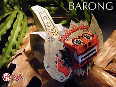 Barong Papercraft, awesome