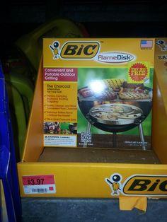 GRATIS Bic FlameDisks En Walmart!