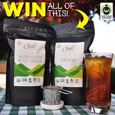 Want to #WIN a super-sized Iced #Tea Gift Set featuring BRAND NEW #FairTrade Certified #ChoiceOrganicTeas? Feeling lucky? Enter here: http://fairtrd.us/1BgxK2f #giveaway #prize #nationalicedteamonth