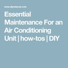 Essential Maintenance For an Air Conditioning Unit   how-tos   DIY Clean Air Conditioner, Air Conditioner Cover, Ac Maintenance, Kmart Home, Shooting Bench, Appliance Repair, Household Cleaning Tips, Heating And Cooling, Home Upgrades