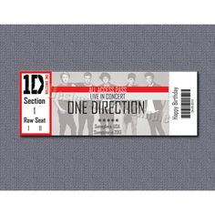 Creative Ways To Wrap Concert Tickets  Concert Tickets Concert