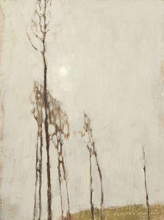 The Sun and Reaching Trees, - David Grossmann oil painting Art Thomas, David, California Art, Art Club, Artsy, Sun, Gallery, Trees, Artwork