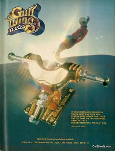 Image on CalStreets Skateshop http://www.calstreets.com/social-gallery/32-gullwing-gold-truck-10148
