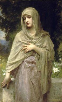 Modesty - William-Adolphe Bouguereau, c.1902, 202/243.