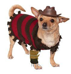 1b15efc87 Rubies Costume Company A Nightmare on Elm Street Freddy Krueger Pet  Costume
