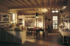 Marchi Group - Old England Cucina country chic- Cucina componibile - Top in pietra naturale