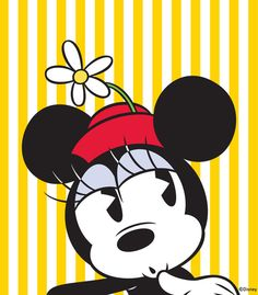 ✶ Minnie gives thought to where she is going shopping for the day ★