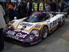 Jaguar Le Mans Racing Car     Nice Jaguar photo found on the web