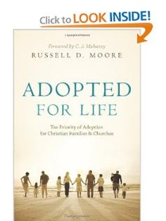 great book about adoption for Christians