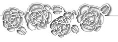 Frantic Stamper Precision Die - Rose Cutout Border 14.99