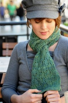 Staggered Ladders Scarf