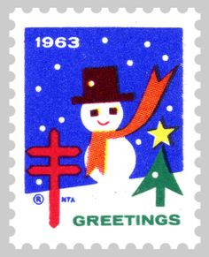 1963 Christmas Seal® by AmericanLung, via Flickr