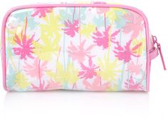 Forever 21 Pastel Palm Cosmetic Bag in Pink (Pink/multi) - Lyst