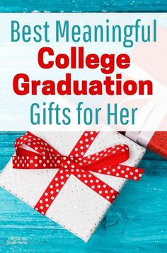 College graduation gifts s meaningful she will use them for years to come. Make college graduation a day for her to remember, whether it's your daughter, sister or girlfriend. #gift, #graduation, #giftsforher