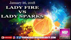 Lady Fire vs Lady Sparks, January 26, 2018.