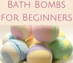 Homemade Bath Bomb Recipes for Beginners: How to Make Bath Bombs for Relaxation, Stress Reduction, and Better Health